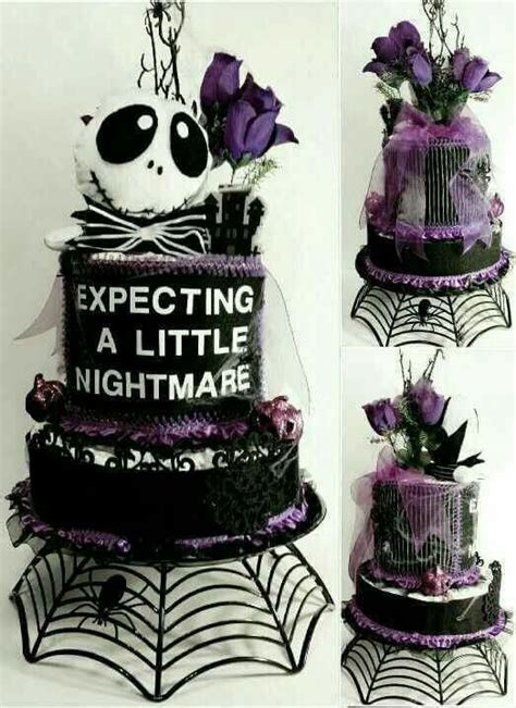 nightmare before baby shower theme this is awesome for an october baby shower baby shower