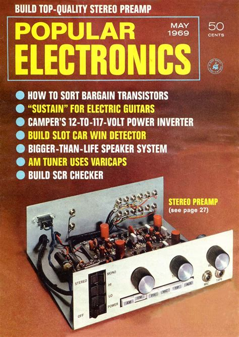 popular electronics may 1969