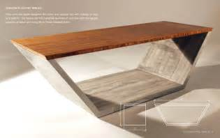 Concrete And Wood Coffee Table Concrete Coffee Tables You Can Buy Or Build Yourself