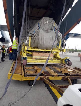 grounded aircraft gets new engine in two days in okinawa aog shipment air cargo world
