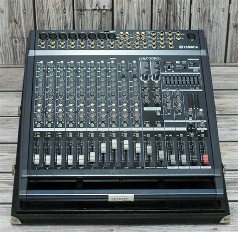 Power Mixer Lifier Yamaha yamaha emx5000 12 powered mixer reverb