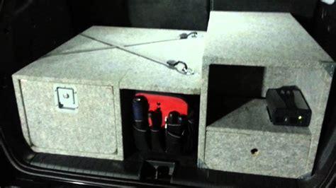 suv homebuild trunk drawer