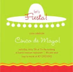 fiesta invitations fiesta invitation wording ideas by