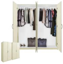Door wardrobe closet basic package free standing contempo space