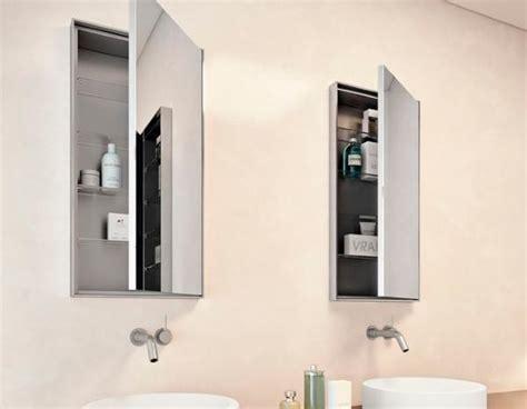 specchio bagno incassato arredo bagno salvaspazio