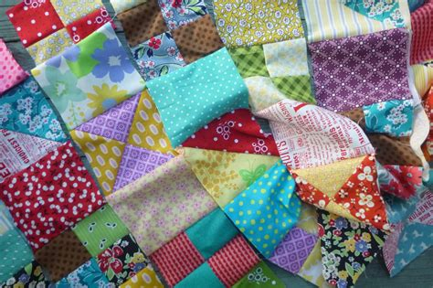How To Put Together A Quilt by Sewn That Scrap Quilt Along Putting It Together