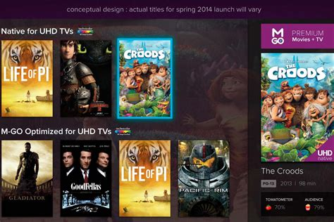best 4k movies m go announces 4k content exclusive to samsung digital
