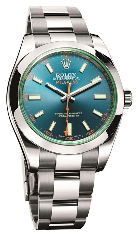 Ultimate Replica Rolex Milgauss Blue Electric baselworld 2014 steel blue rolex milgauss