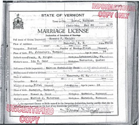 Marriage Records Vermont The Reinvention Of The Alleged Vermont And New Hshire