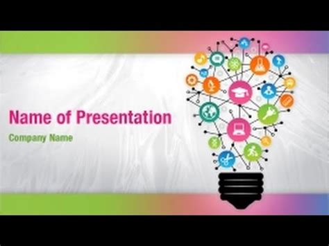 Concept Of Education Powerpoint Video Template Backgrounds Digitalofficepro 01272v Youtube Free Powerpoint Templates Education