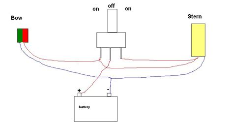 nav anchor switch wiring diagram rocker switch diagram