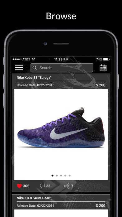 sneaker news app kicks release dates sneaker news iphone app app store