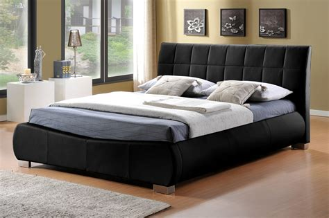 leather bed limelight dorado faux leather bed