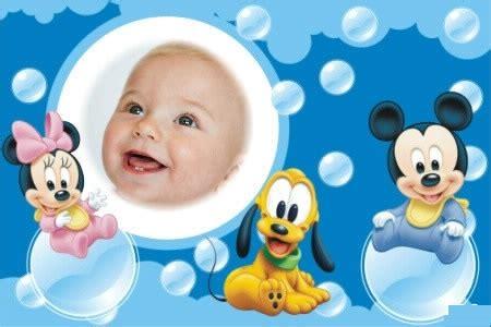 montajes y fotomontajes infantiles para ni os y bebes fotomontajes de minnie y mickey fotomontajes infantiles