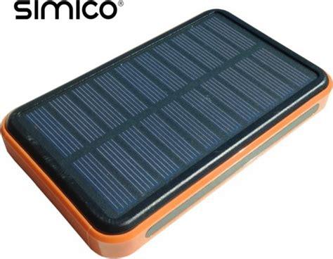 Power Bank 10 000 Mah Solar bol simico solar powerbank 10 000 mah
