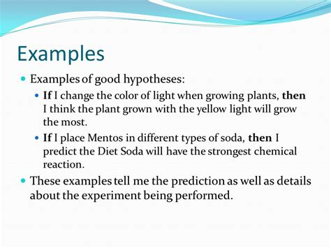 identifying variables and forming a hypothesis ppt video