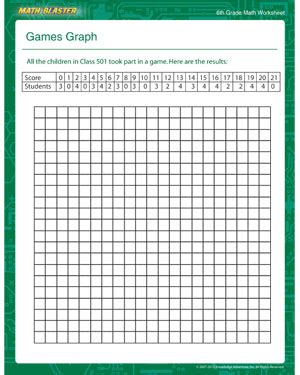printable math board games for 6th grade games graph free math worksheets for 6th grade math