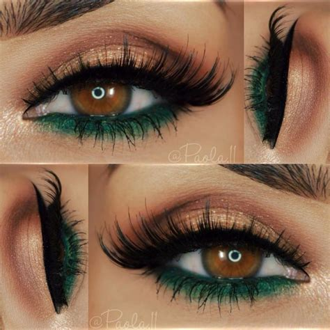 what color eyeliner for green best 25 brown makeup ideas on brown