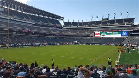 section 132 f lincoln financial field section 132 philadelphia eagles