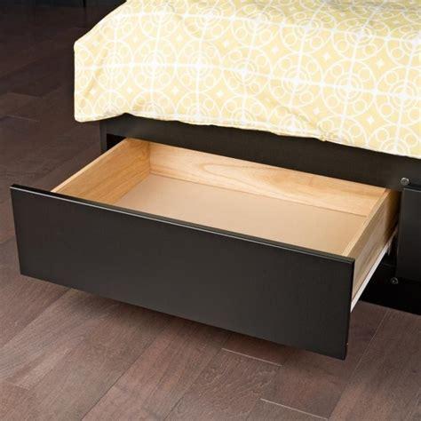 black storage bed king bookcase platform storage bed in black bbk 8400 kit