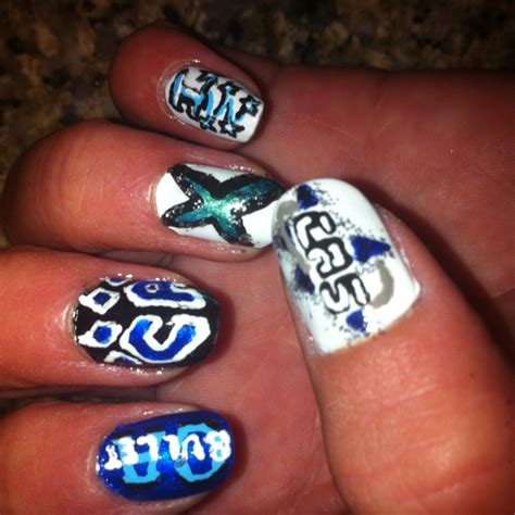 Cheerleading Nail