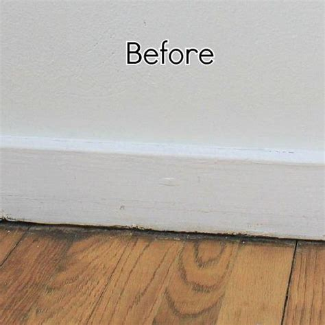 baseboard height add height to your short baseboards cheaply hometalk