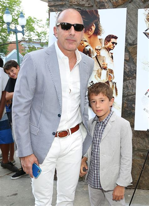 matt lauers son thijs lauer thijs lauer photos photos the mission impossible