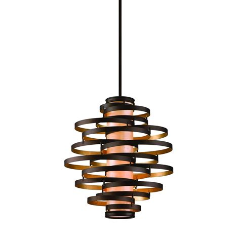 four lights vertical pendant light with inner glass cylinder shade and