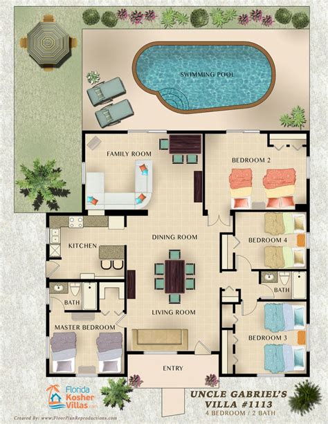 vacation rental house plans 11 best images about vacation rental marketing floor plans