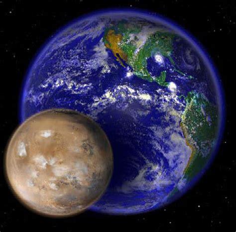 nasa top story sibling rivalry: a mars/earth