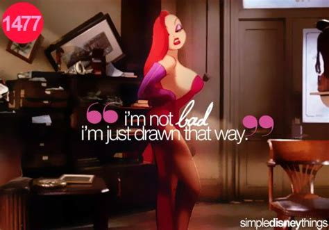 jessica rabbit botched i m not bad i m just drawn that way jessica rabbit