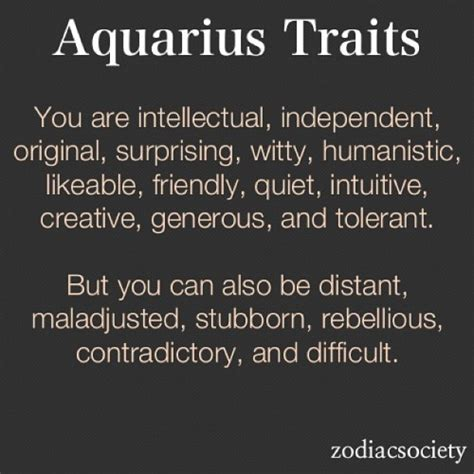 wireinmyblood aquarius zodiac starsign traits