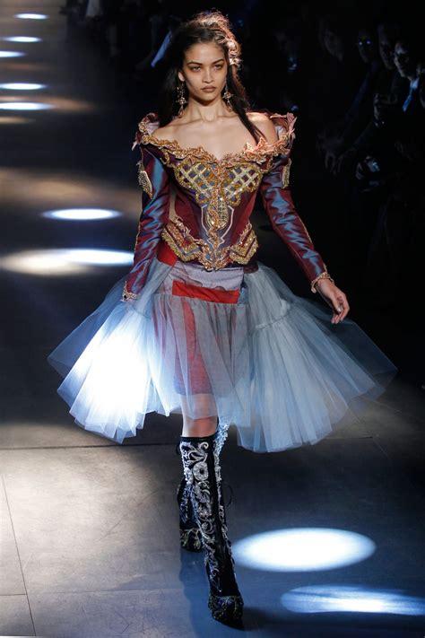 design fashion week dame vivienne westwood s gold collection during paris