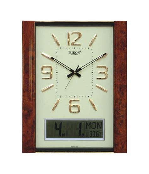 decorative digital wall clock rikon designer digital wall clock buy rikon designer