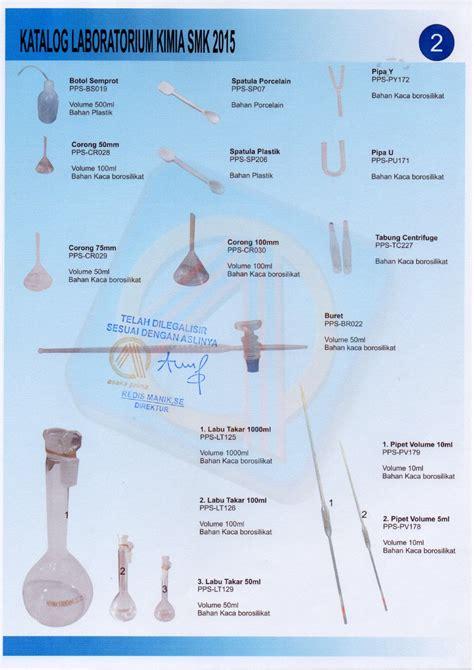 Pipet Kaca Panjang Satuan rab kimia smk dak 2015 www asakaprima bkb kit kie kit address obgyn bed sarana
