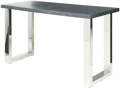 gray wood console table lyon oxidized grey wood console table hgsr337 nuevo