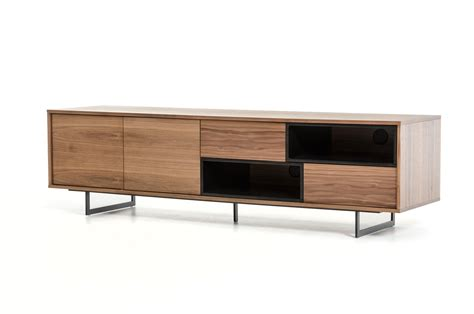 tv stand cabinet with drawers walnut tv stand media storage with drawers and doors san