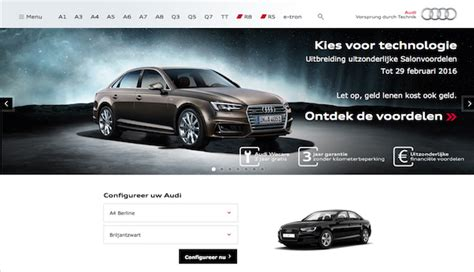 Audi Homepage by Audi Be Website Combines Rich Integrated Experience With