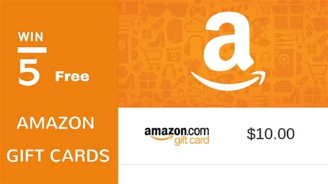 How To Win A Free Amazon Gift Card - free amazon gift card giveaway