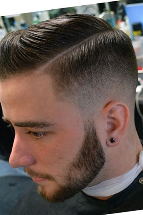 haircuts with fades men s side part hairstyle mens craze