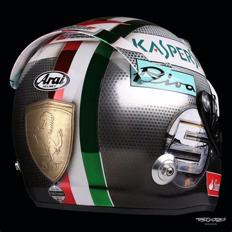 helmet design italy sebastian vettel s helmet gets an italian job for monza
