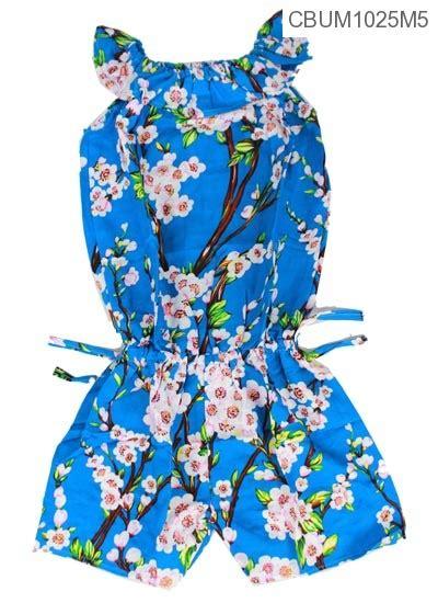 jumpsuit anak motif bunga size m jumpsuit murah