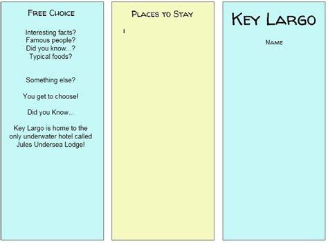 travel brochure template docs 11 free sle travel brochure templates printable sles