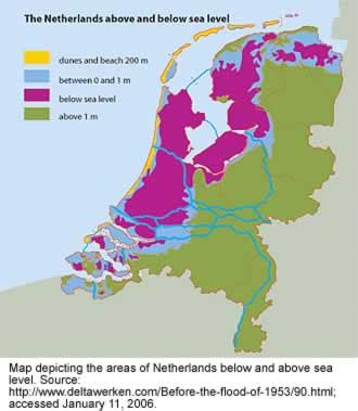 netherlands flood map lessons from the flooding along the mississippi