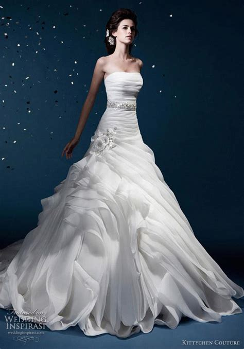Wedding Gowns Couture by Kittychen Couture Wedding Dresses 2012 Wedding Inspirasi
