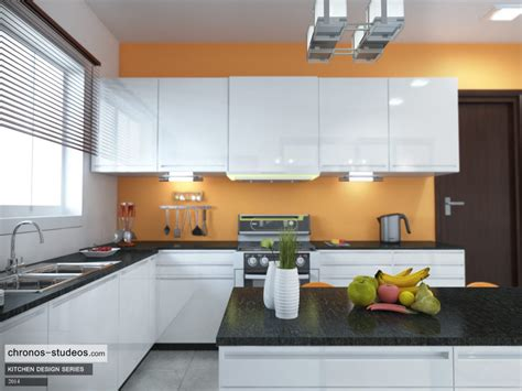 Kitchen Design Visualizer Your Home Interior Ideas Crisp White High Gloss Kitchen