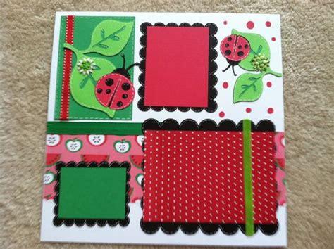 ladybug scrapbook layout 17 best images about layouts on pinterest scrapbook kit