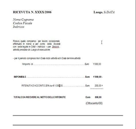 codice fiscale significato lettere le prestazioni occasionali guide varie 187 generale
