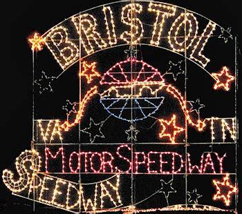 bristol motor speedway lights bristol motor speedway in lights