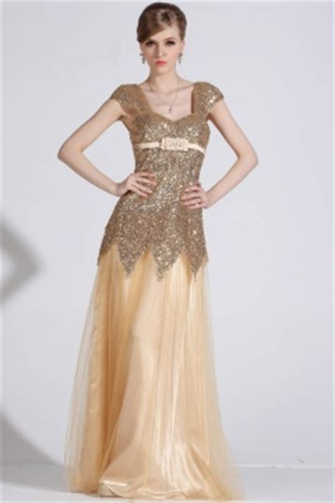 verschiedenes luxuses billiges goldes abendkleider mit rabatt